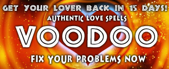 Voodoo Authentic Love Spells